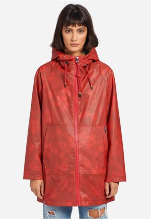 EVELYNA - Waterproof jacket - red