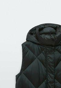 Massimo Dutti - MIT KAPUZE  - Waistcoat - black - 2