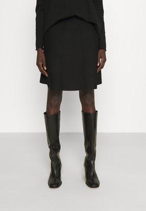 FANCY SKIRT - Spódnica trapezowa - black