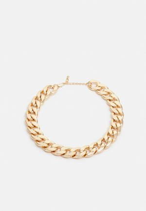 PCORI CHUNKY NECKLACE - Smykke - gold-coloured