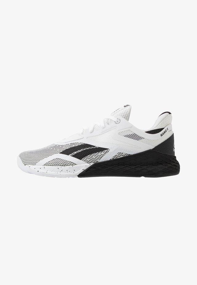 NANO X - Chaussures d'entraînement et de fitness - black/white