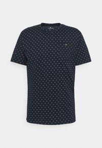 TOM TAILOR - Print T-shirt - navy/white - 5