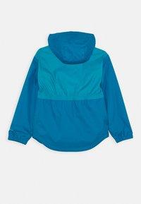 Columbia - RAINY TRAILS JACKET - Outdoor jacket - fjord blue - 1
