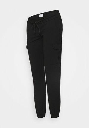 MLMARIE JERSEY PANTS - Tracksuit bottoms - black
