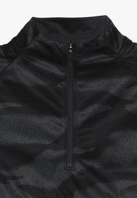 Nike Performance - Fleecová mikina - black/anthracite - 2