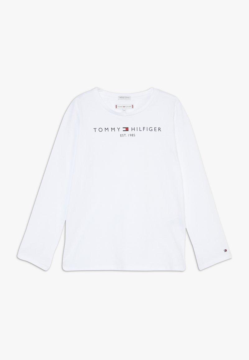 Tommy Hilfiger - ESSENTIAL TEE - Top sdlouhým rukávem - white