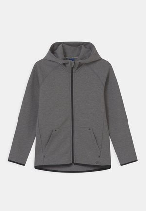 BOY FIT TECH HOOD - Sportovní bunda - grey heather