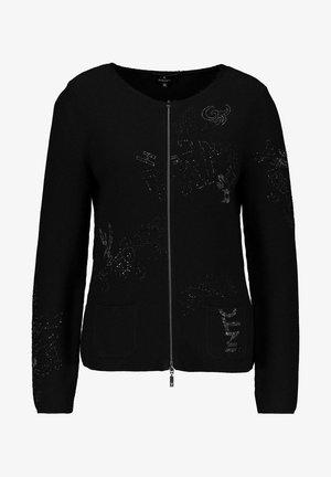 MIT STRASS - Cardigan - schwarz
