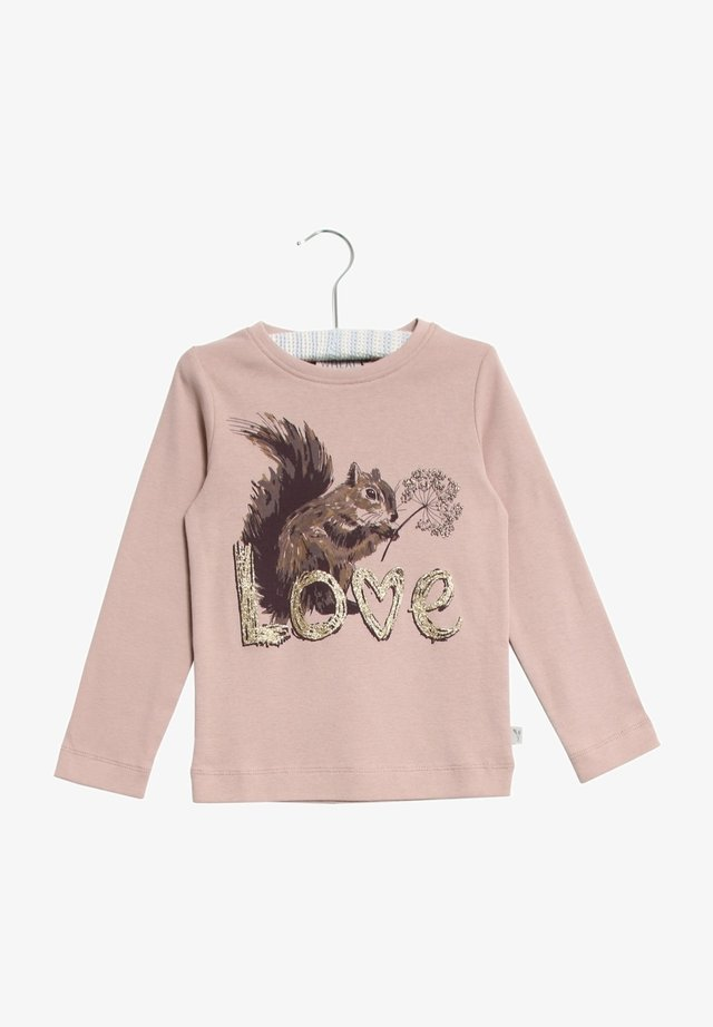 SQUIRREL - Long sleeved top - rose powder