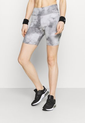 ONE CORE - Tights - smoke grey/white