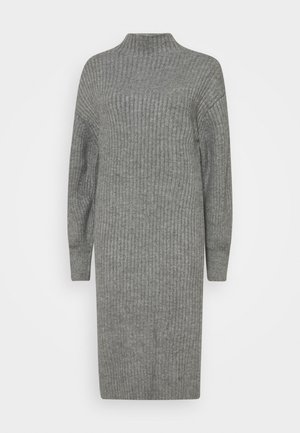 SLOUCHY  - Strikket kjole - grey heather