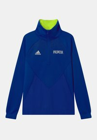 adidas Performance - UNISEX - Long sleeved top - team royal blue/semi solar yellow - 0