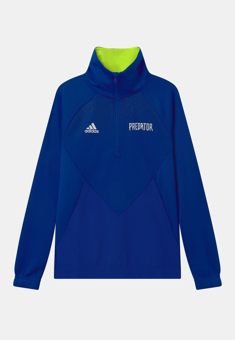 adidas Performance - UNISEX - Long sleeved top - team royal blue/semi solar yellow