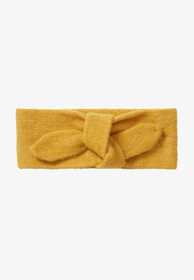 Ear warmers - golden apricot