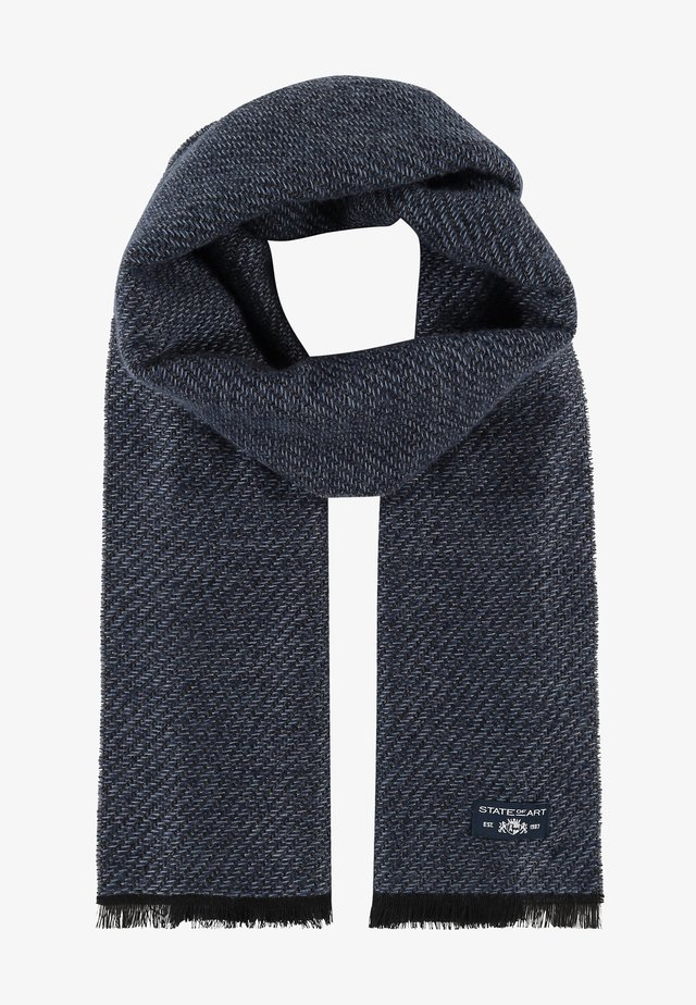 Scarf - midnight/grey blue