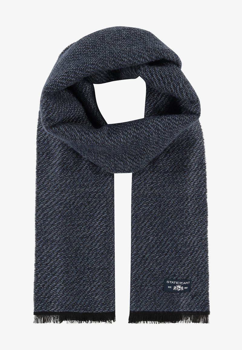 State of Art - Scarf - midnight/grey blue