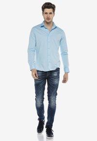Cipo & Baxx - HECTOR - Formal shirt - blau - 1