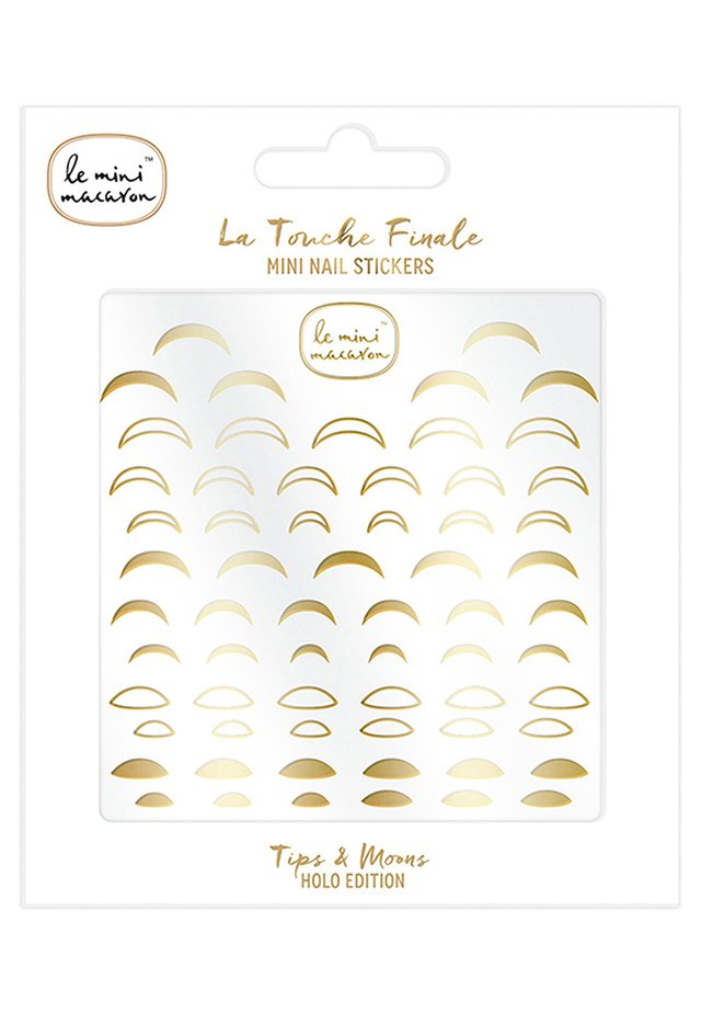 LA TOUCHE FINALE MINI NAIL STICKERS - Nagelstickers - tips & moons