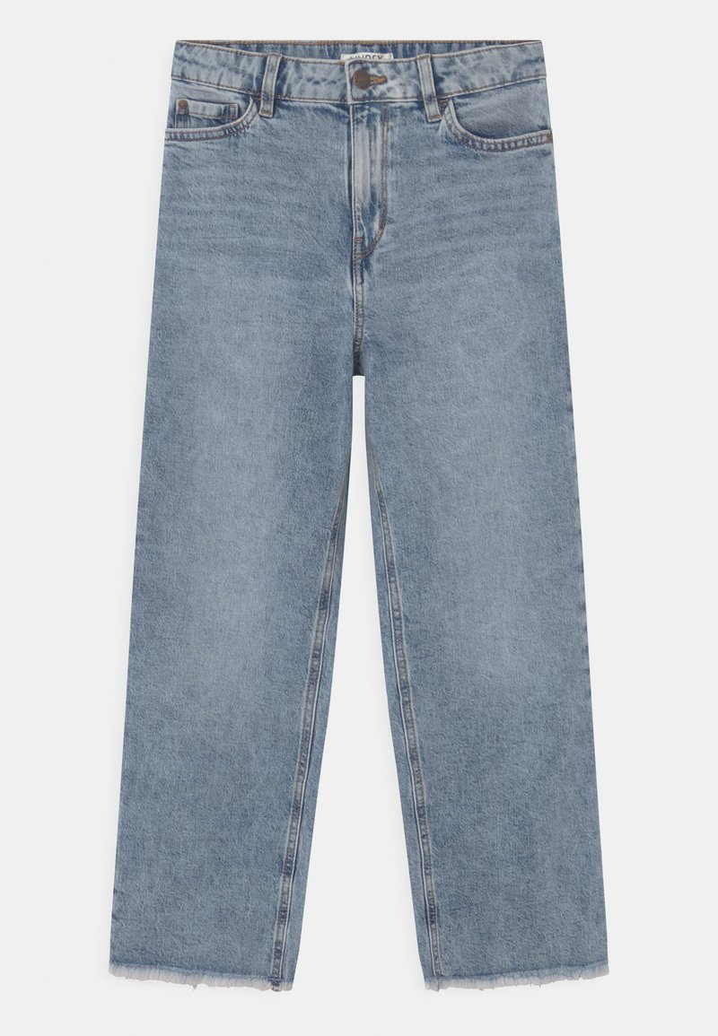 Lindex - LOTTE - Jeansy Relaxed Fit - blue denim