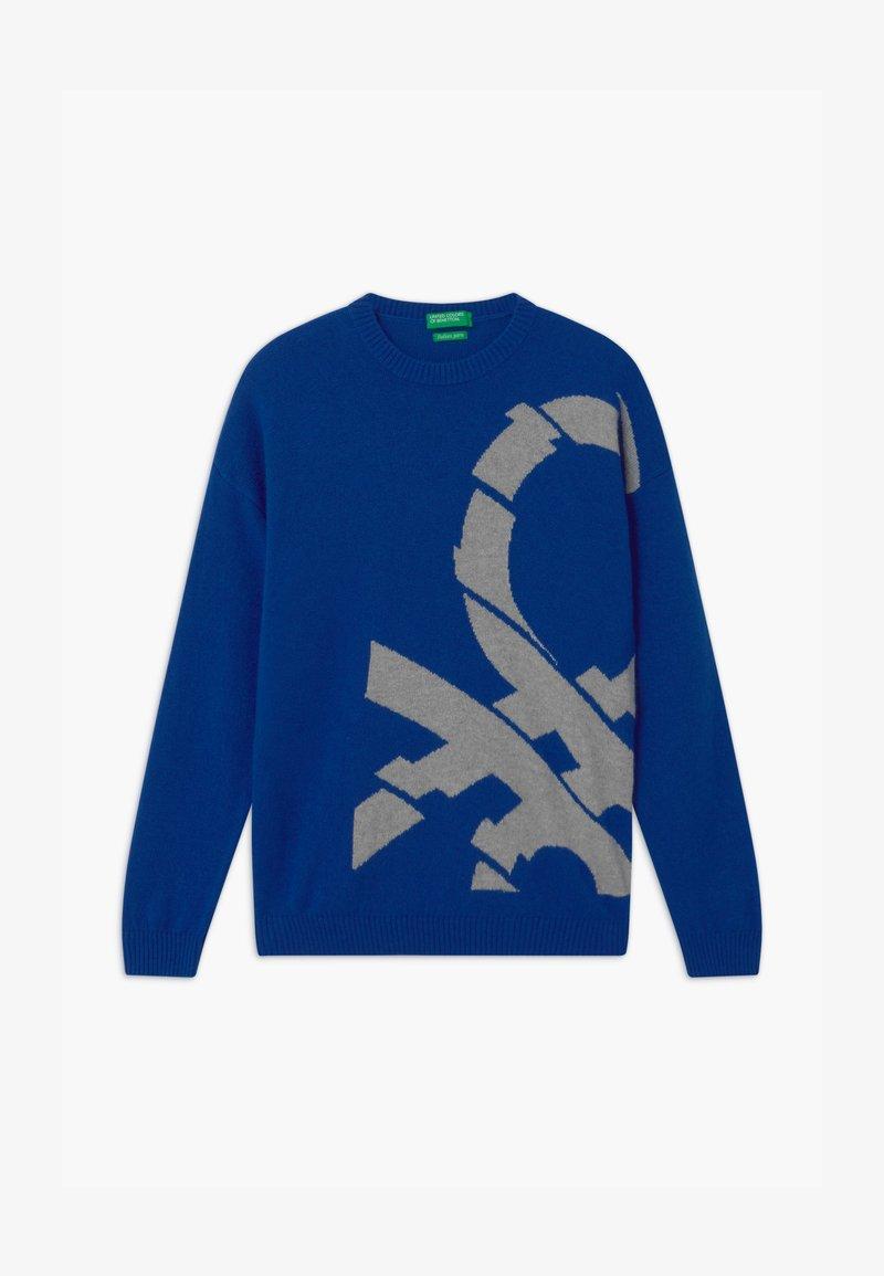 Benetton - BASIC BOY - Svetr - blue