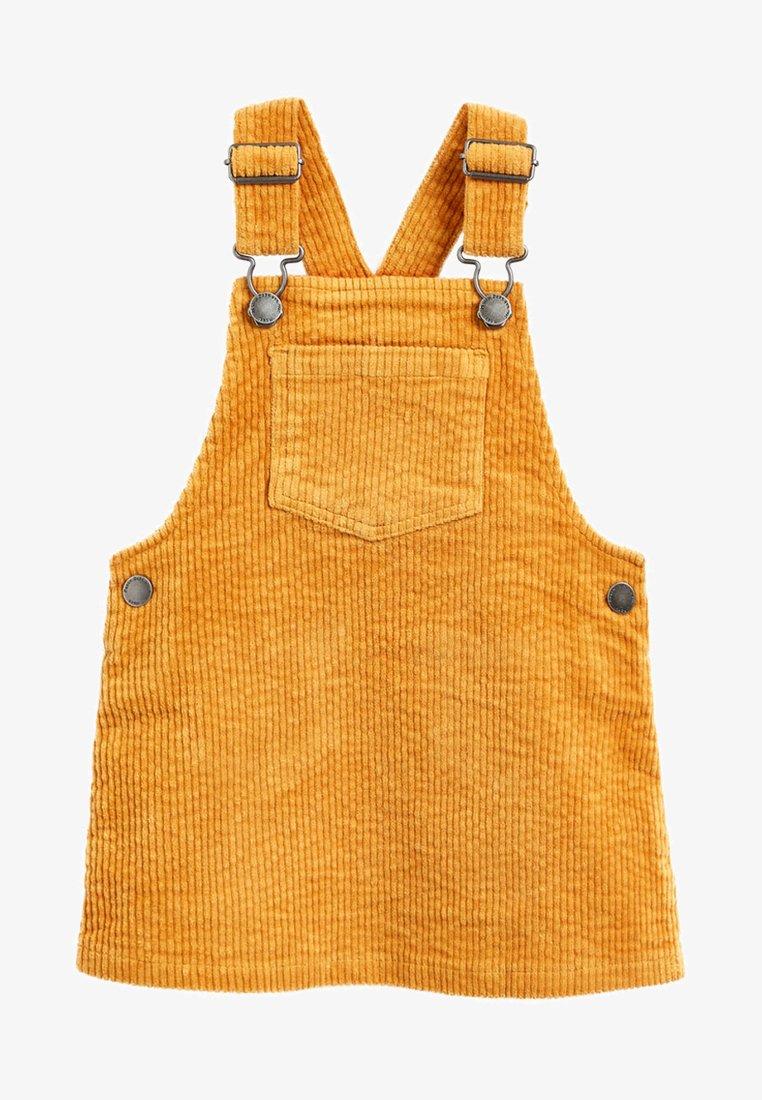 Next - PINAFORE - Day dress - yellow