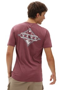 Vans - MN VINTAGE POINTED SHAPER SS - Print T-shirt - rhododendron - 1