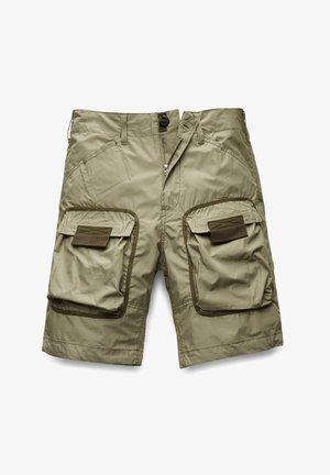 3D STRAIGHT POPLIN - Shorts - shamrock