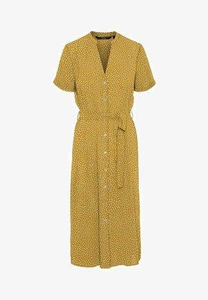 VMSAGA  - Shirt dress - harvest gold