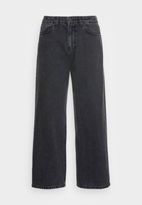 STACY - Relaxed fit jeans - black denim