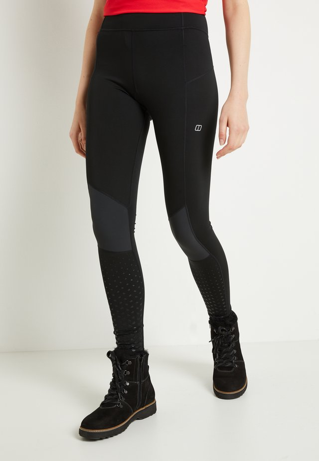 LELYUR - Leggings - black