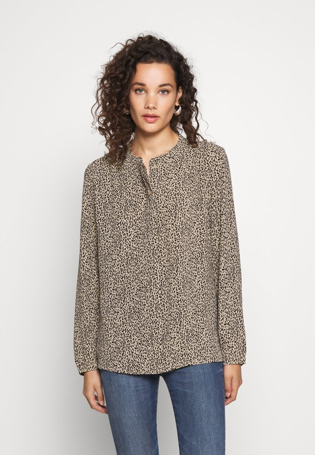 EMILY PRINT SHIRT - Chemisier - light brown