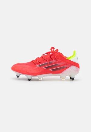 X SPEEDFLOW.1 SG - Screw-in stud football boots - red