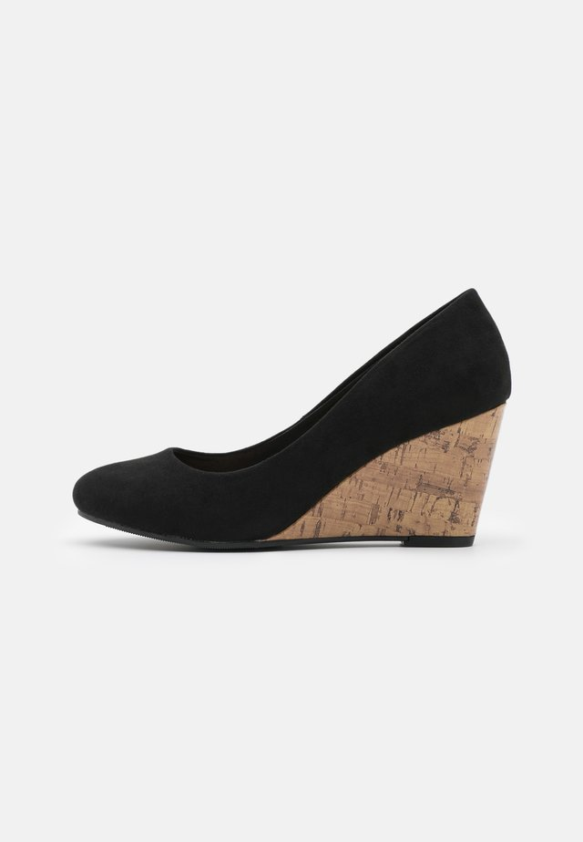 WATERLILLY NEW COMBO - Wedges - black