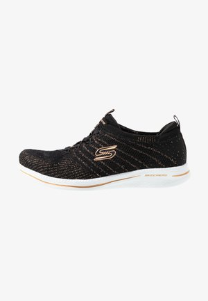 CITY PRO - Trainers - black/rose gold/white