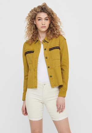 DETAILREICHE - Summer jacket - cumin