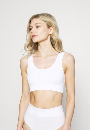 SEAMLESS SCOOP - Bustier - white