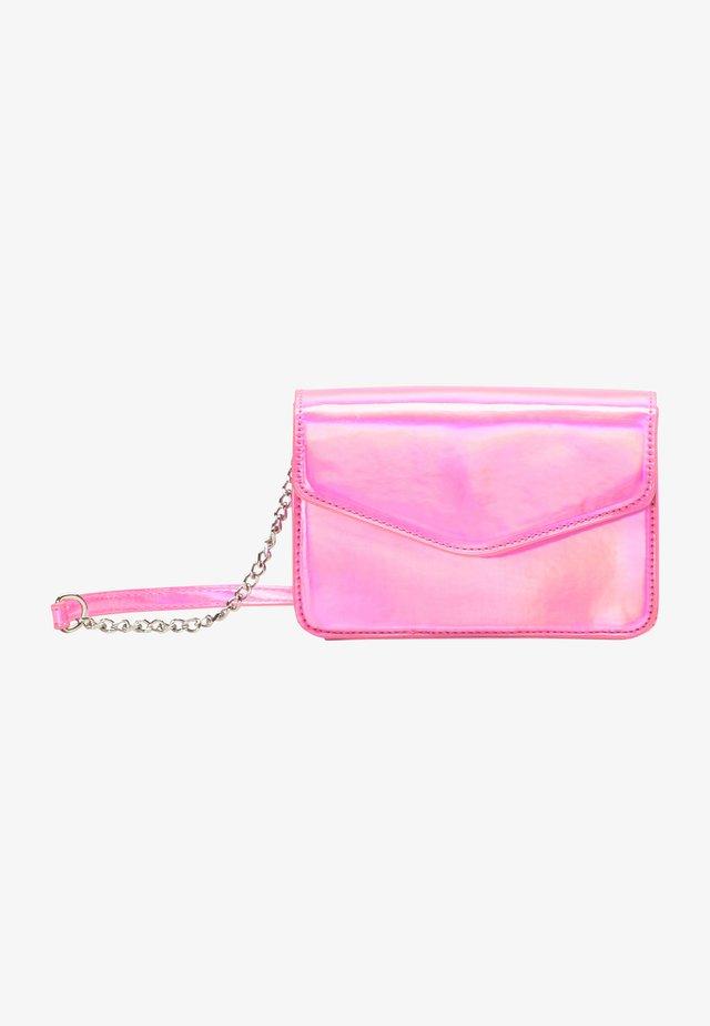 Sac bandoulière - pink holo
