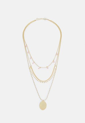 ONLANABELNECKLACE - Halskæder - gold-coloured/soft pink