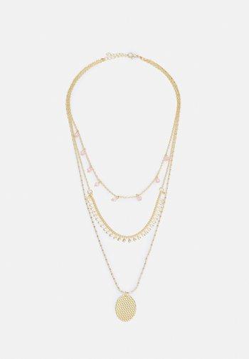 ONLANABELNECKLACE - Necklace - gold-coloured/soft pink