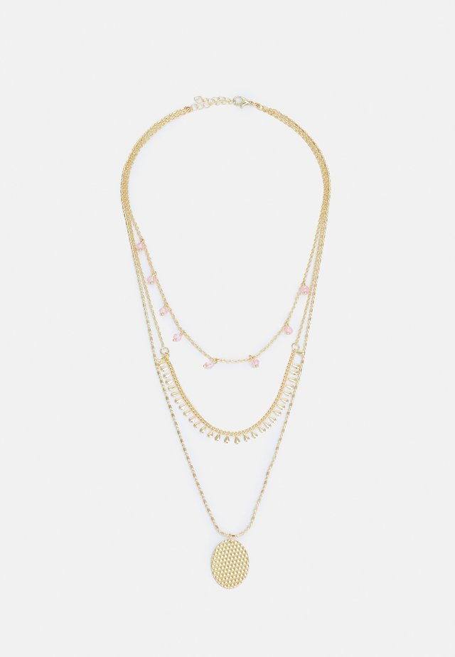 ONLANABELNECKLACE - Necklace - gold-coloured/soft pink