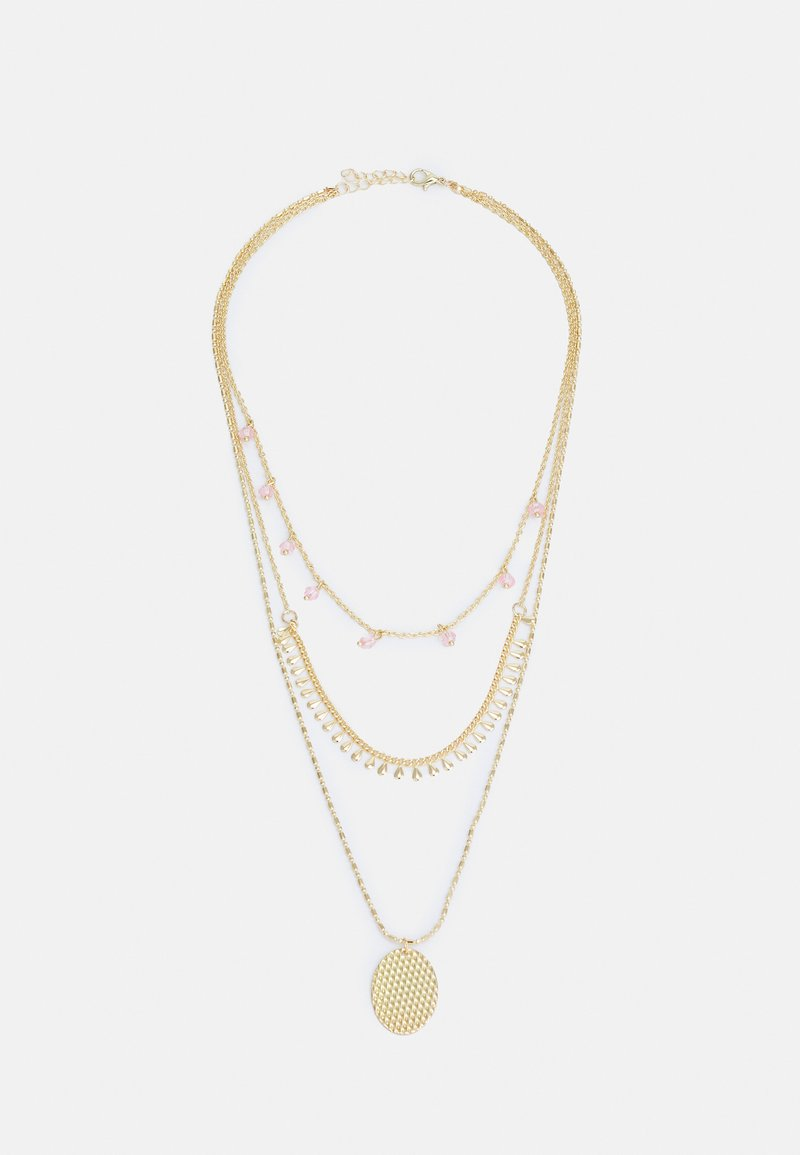 ONLY - ONLANABELNECKLACE - Necklace - gold-coloured/soft pink