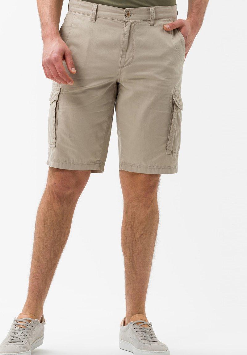 BRAX - STYLE BRAZIL - Shorts - beige