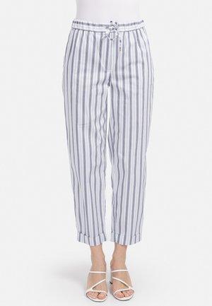 GUMMIBUND - Trousers - weiss