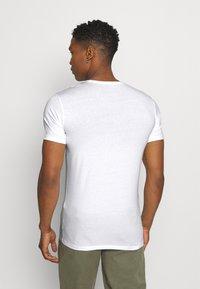 Diesel - UMTEE RANDAL 3 PACK - T-shirt basic - white/ grey melange/ black - 2