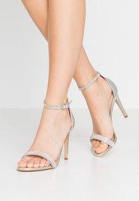 ALDO - AROCLYA - Sandaler med høye hæler - silver - 0
