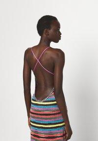 M Missoni - ABITO LUNGOSENZA MANICHE - Gebreide jurk - multi-coloured - 5