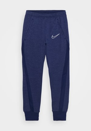 DRY ACADEMY - Tracksuit bottoms - blue void/white
