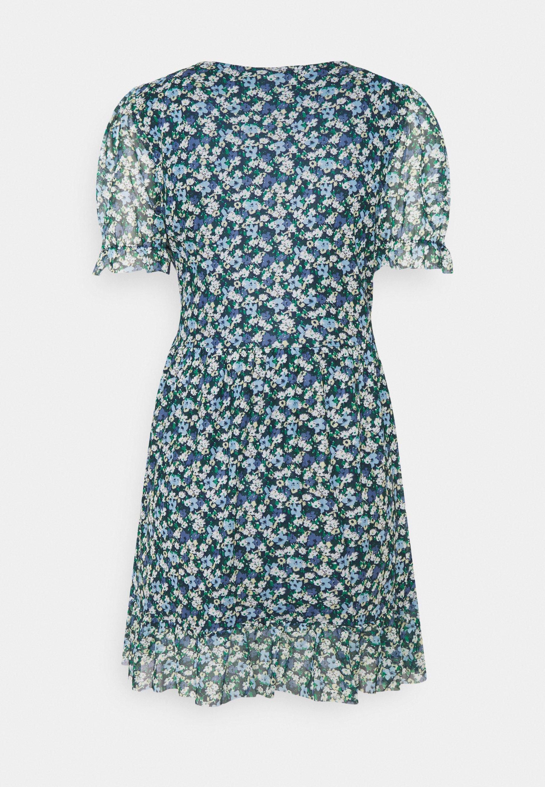 Women VIVOLETTE COTTAGE WRAP DRESS - Day dress
