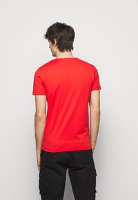 Iceberg - Print T-shirt - rosso fuoco - 2