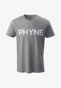 Phyne - T-shirt imprimé - light grey - 1